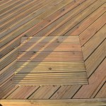 Decking. FSC Softwood Manhole Cover