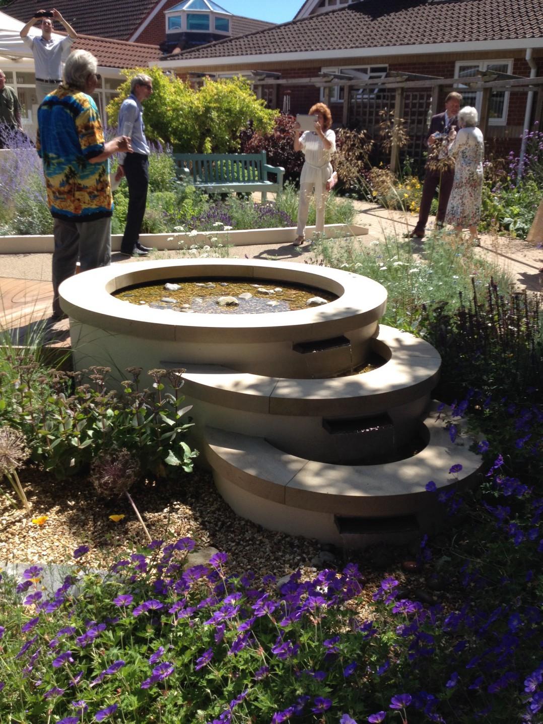 The Earl Mountbatten Hospice Chelsea Garden.